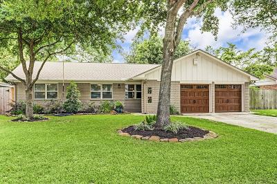 Houston Single Family Home For Sale: 2610 Tannehill Drive