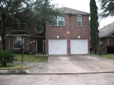 Houston Single Family Home For Sale: 11850 Leaf Oak Drive
