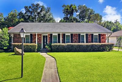 Houston Single Family Home For Sale: 10707 Chevy Chase Drive