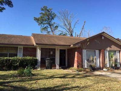 Houston Single Family Home For Sale: 9527 Balsam Lane