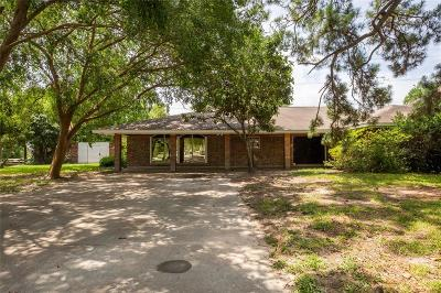Houston Single Family Home For Sale: 8801 Friendship Road