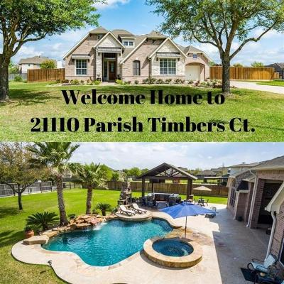 Cypress Single Family Home For Sale: 21110 Parish Timbers Court