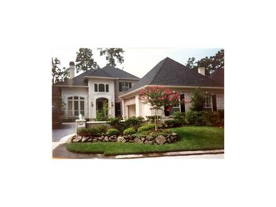Houston Single Family Home For Sale: 2011 Fairway Green Drive