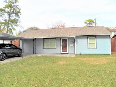 Houston Rental For Rent: 7418 Jalna Street