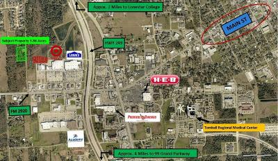 Tomball Residential Lots & Land For Sale: 14604 Fm 2920 Road