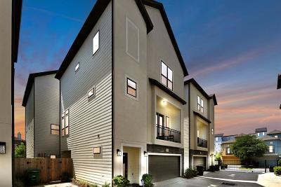 Houston Single Family Home For Sale: 2502 Beall Street #B
