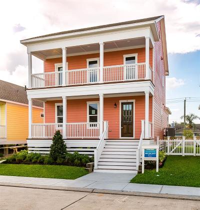 Galveston Single Family Home For Sale: 4 Duval Street
