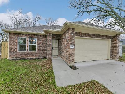 Houston Single Family Home For Sale: 4430 Rosemont Street