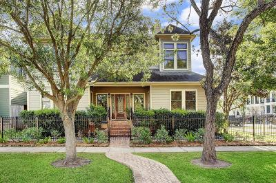 Houston Single Family Home For Sale: 1712 Nicholson Street