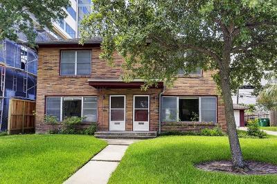 Houston Multi Family Home For Sale: 2125 Sheridan Street