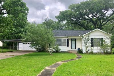 Liberty Single Family Home For Sale: 142 Wallisville Road