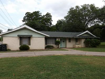 Hallettsville Single Family Home For Sale: 610 N Main Street