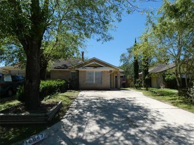 Houston Single Family Home For Sale: 10047 Rosbrook Drive