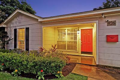 Houston Single Family Home For Sale: 926 Algregg Street