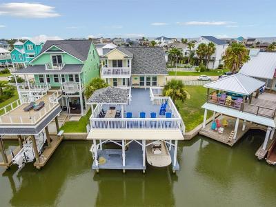 Galveston Single Family Home For Sale: 4006 Isla Del Sol