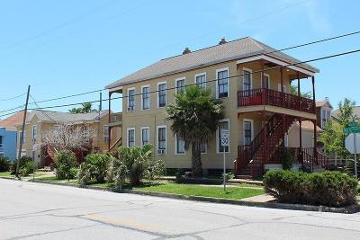 Galveston Single Family Home For Sale: 1401 Avenue M 1/2 Street