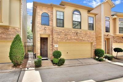 Houston Single Family Home For Sale: 1339 Studer Street