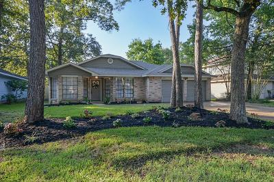 Kingwood Single Family Home For Sale: 2911 Parkwood Manor Drive