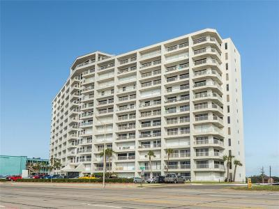 Galveston Mid/High-Rise For Sale: 7700 Seawall Boulevard #305