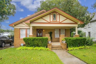 Houston Single Family Home For Sale: 1314 Harvard Street