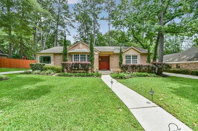 Kingwood Single Family Home For Sale: 2111 Shady Branch Drive