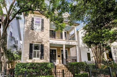 Houston Single Family Home For Sale: 905 Waverly Street