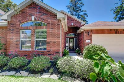 The Woodlands Single Family Home For Sale: 11 Gilmore Grove Place