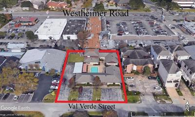Houston Multi Family Home For Sale: 5722-5724 Val Verde Street