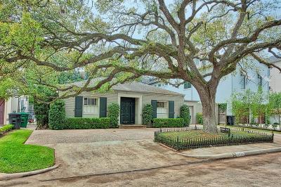 Houston Single Family Home For Sale: 2022 Persa Street