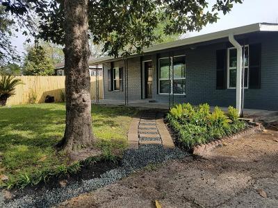 Houston Single Family Home For Sale: 2457 Druid Street