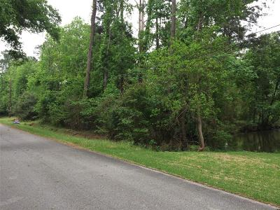 Kingwood Residential Lots & Land For Sale: 2836 River Bend Drive