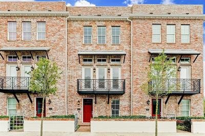 Houston Condo/Townhouse For Sale: 2302 Kolbe Grove Lane