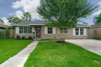 Houston Single Family Home For Sale: 1210 Elton Street