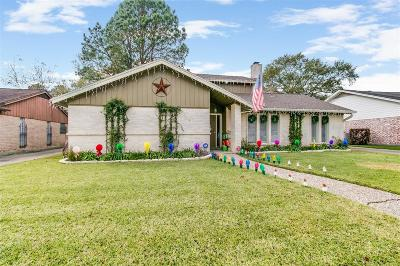 Houston Single Family Home For Sale: 15314 Seahorse Drive