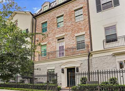 Houston Condo/Townhouse For Sale: 1516 Maryland Street