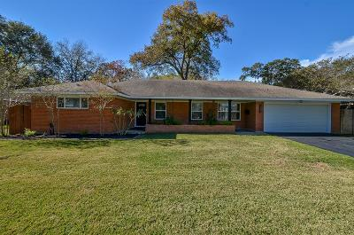 Houston Single Family Home For Sale: 1643 Crestdale Drive