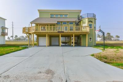 Galveston Single Family Home For Sale: 18314 E De Vaca