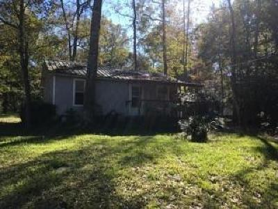 Willis Single Family Home For Sale: 15142 Austin Road