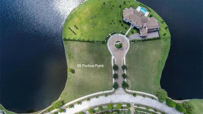 The Woodlands Residential Lots & Land For Sale: 39 Portico Point