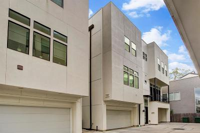 Houston Condo/Townhouse For Sale: 2106 Colorado Street