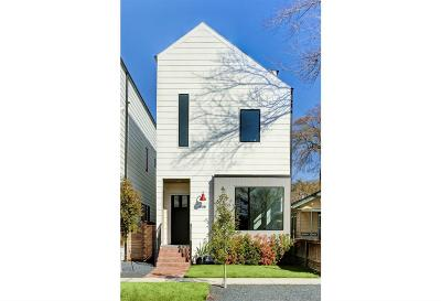 Houston Single Family Home For Sale: 615-B E 11th 1/2 Street