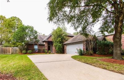 Seabrook Single Family Home For Sale: 1703 Evergreen Lane