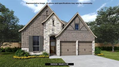 Cypress Single Family Home Pending: 14410 Cobalt Bend