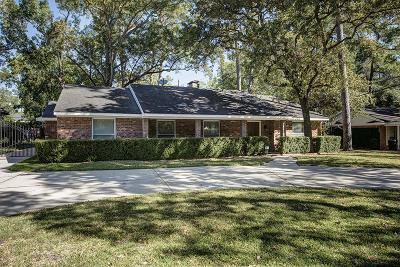 Houston Single Family Home For Sale: 5304 Woodway