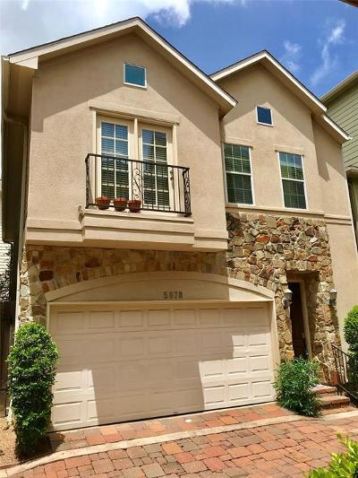 Houston Single Family Home For Sale: 5978 Kansas Street