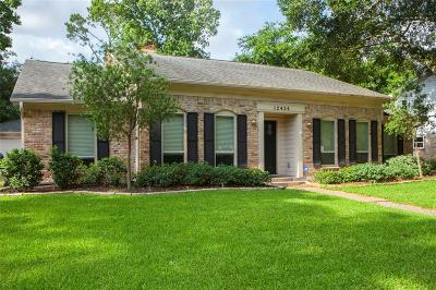 Houston Single Family Home For Sale: 12434 Briar Forest Drive