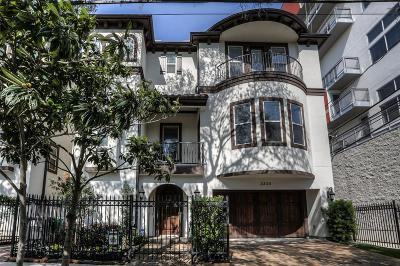 Houston Single Family Home For Sale: 3330 Graustark Street