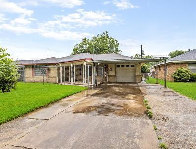 Houston Single Family Home For Sale: 4507 Elser Street