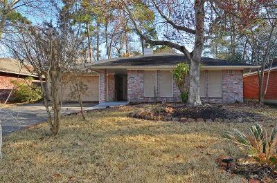Kingwood Single Family Home For Sale: 2419 Sherwood Hollow Lane