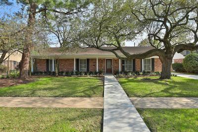 Houston Single Family Home For Sale: 7611 Fairdale Lane